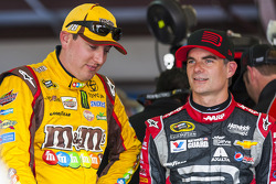 Kyle Busch and Jeff Gordon