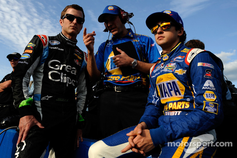 Kasey Kahne and Chase Elliott