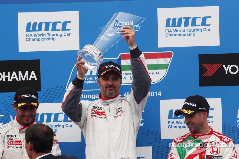 Yvan Muller, Citroen C-Elysee WTCC, Citroen Total WTCC vincitore