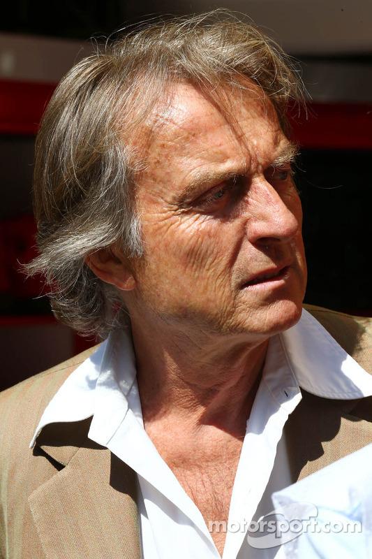 Luca di Montezemolo, presidente da Ferrari