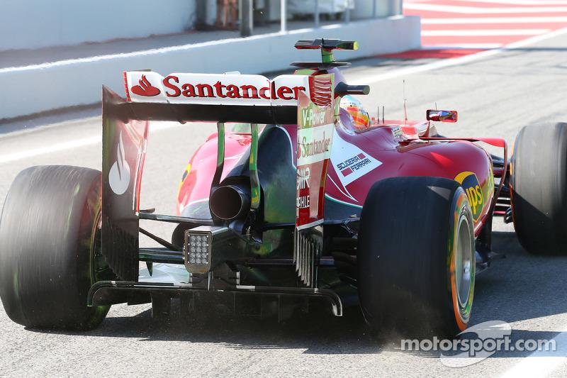 Fernando Alonso, Ferrari F14-T arka kanat