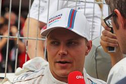Valtteri Bottas, Williams gridde