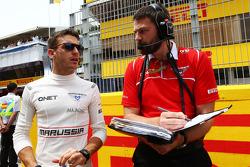 Startaufstellung: Jules Bianchi, Marussia F1 Team