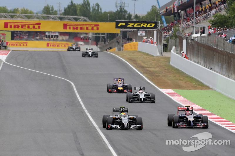 Esteban Gutierrez, Sauber F1 Takımı ve Daniil Kvyat, Scuderia Toro Rosso
