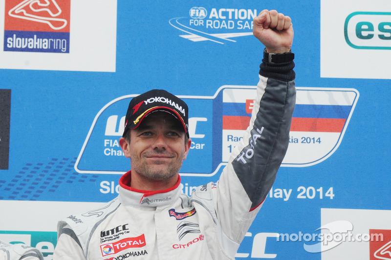 Vincitore Sébastien Loeb, Citroen C-Elysee WTCC, Citroen Total WTCC,