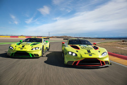 Тесты Aston Martin Racing