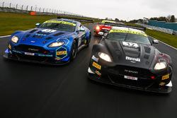 Mark Farmer TF Spoort Aston Martin V12 Vantage GT3 and Derek Johnston TF Spoort Aston Martin V12 Vantage GT3