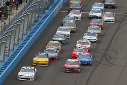 Tyler Reddick, JR Motorsports, Chevrolet Camaro Nationwide Children's, Ryan Reed, Roush Fenway Racing, Ford Mustang Drive Down A1C Lilly Diabetes