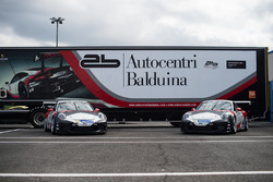 Le Porsche 911 GT3 Cup del team AB Racing