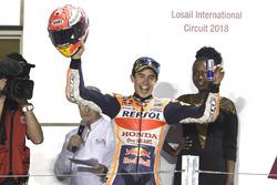 Second place Marc Marquez, Repsol Honda Team