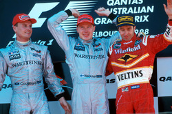 Podium: 1.r Mika Hakkinen, McLaren; 2. David Coulthard, McLaren; 3. Heinz-Harald Frentzen Williams