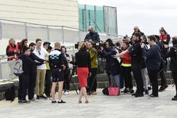 Valtteri Bottas, Mercedes-AMG F1 con los medios