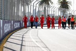 Giro di pista per Sebastian Vettel, Ferrari