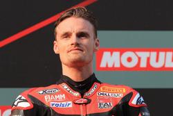 Podium: Chaz Davies, Aruba.it Racing-Ducati SBK Team