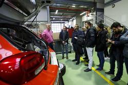 Didier Clément, Teknik Kordinatör, Citroen Racing ve Sébastien Loeb , Daniel Elena, Citroën World Rally Team Citroën C3 WRC