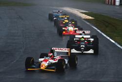 Johnny Herbert, Lotus 107B leads