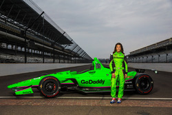 Danica Patrick Indy 500 livery unveil