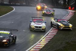 #43 Century Motorsport BMW M4 GT4: Jack Mitchell, Ricky Collard, #62 Academy Motorsport Aston Martin V8 Vantage GT4: Will Moore, Matt Nicoll-Jones