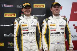 Podyum: 3. #116 ERC Sport Mercedes-AMG GT3: Lee Mowle, Yelmer Buurman