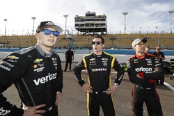 Josef Newgarden, Team Penske Chevrolet, Simon Pagenaud, Team Penske Chevrolet, Will Power, Team Penske Chevrolet