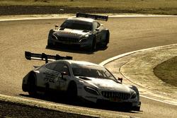Пол ди Реста и Даниэль Хункаделья, HWA Team, Mercedes-AMG C63 DTM