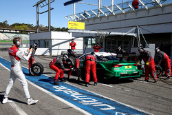 Mike Rockenfeller, Audi Sport Team Phoenix, Audi RS 5 DTM and René Rast, Audi Sport Team Rosberg is filminng