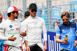 Lucas di Grassi, Audi Sport ABT Schaeffler, Andre Lotterer, Techeetah., Nick Heidfeld, Mahindra Racing