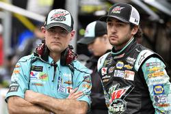 Chase Elliott, Hendrick Motorsports, Chevrolet Camaro Mountain Dew Baja Blast and Kenny Francis