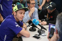 Conférence de presse de Valentino Rossi, Yamaha Factory Racing