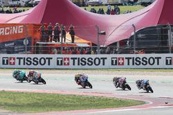 Jorge Martin, Del Conca Gresini Racing Moto3, Fabio Di Giannantonio, Del Conca Gresini Racing Moto3, Marco Bezzecchi, Prüstel GP