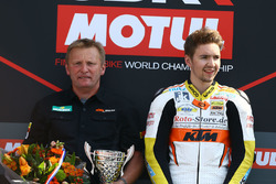 Podium SSP300: Race winner Luca Grunwald