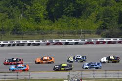 Brad Keselowski, Team Penske, Ford Fusion Snap on and Daniel Suarez, Joe Gibbs Racing, Toyota Camry ARRIS