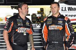 Matt DiBenedetto, Go FAS Racing, Ford Fusion Keen Parts/CorvetteParts.Net and Randy Cox