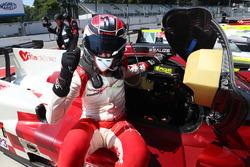 LMP3 polesitter #17 Ultimate Ligier JS P3 - Nissan: Matthieu Lahaye