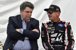 Clint Bowyer, Stewart-Haas Racing, Haas 30 Years of the VF1 and Mike Helton