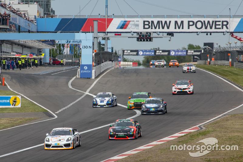 Гомас Гербст, Йозеф Стенгель, Йоахим Гюнтер, Race & Events Porsche Cayman GT4 CS (№308)