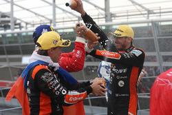 LMP2 podio: ganador #26 G-Drive Racing Oreca 07 - Gibson: Andrea Pizzitola