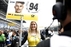 Grid girl of Pascal Wehrlein, Mercedes-AMG Team HWA