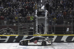 Kevin Harvick, Stewart-Haas Racing, Ford Fusion Jimmy John's, crosses the finish line to win the All Star race