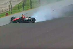 Robert Wickens, Schmidt Peterson Motorsports Honda crash