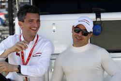 Roberto Amorosi -  Managing Director, Oriol Servia, Scuderia Corsa con RLL Honda