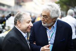 Jean Todt, President, FIA. and Tenor Placido Domingo