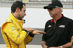 Helio Castroneves ve Rick Mears