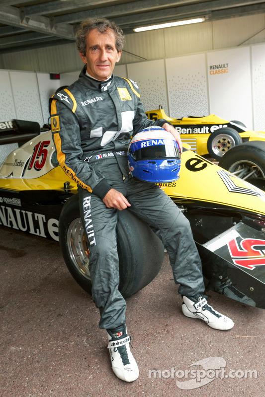 Alain Prost ve 1983 Renault F1 aracı