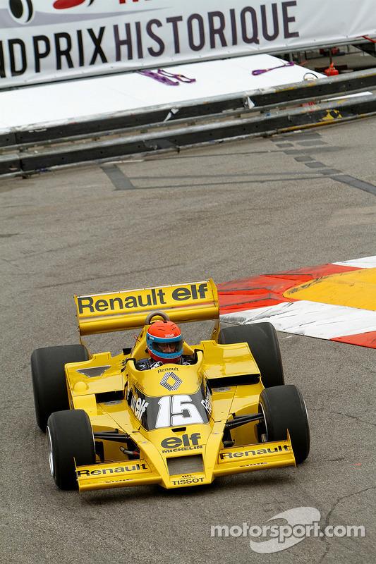 Jean-Pierre Jabouille, con la sua Renault F1