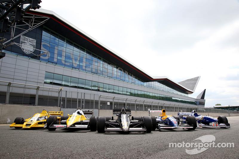 Klasik Renault Sport Formula Bir araçları