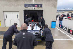 El coche de Kurt Busch, Andretti Autosport Honda