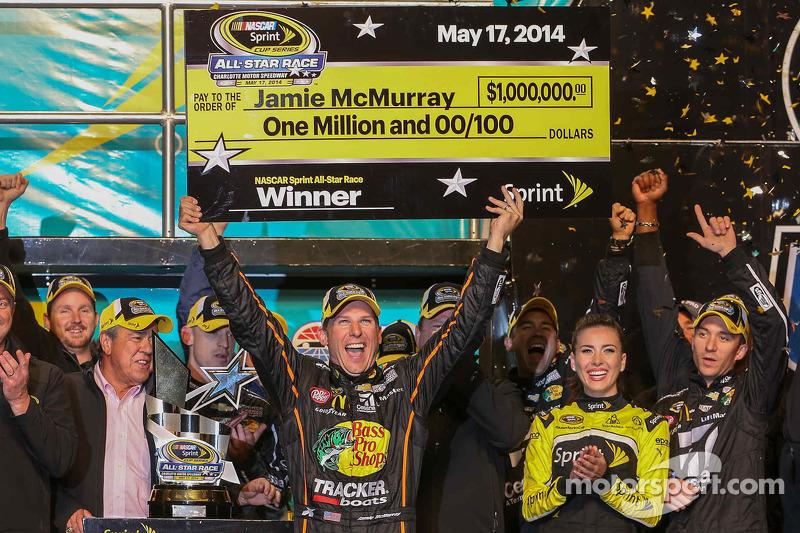 2014: Jamie McMurray (Ganassi-Chevrolet)
