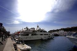 Monaco atmosphere, yachts