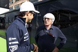 (Soldan Sağa): Felipe Massa, Williams ve Bernie Ecclestone